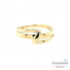 Joy & Julia 14 karaat geelgouden ring 299.129.06