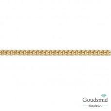 8 karaat gourmet collier 1.4mm 45cm