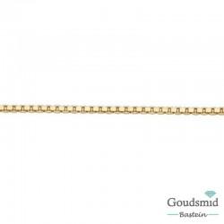 8 karaat venetiaans collier 1.5mm 45cm