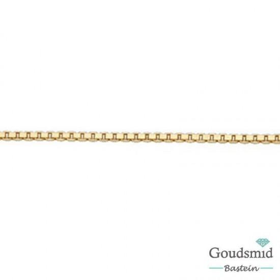 8 karaat venetiaans collier 1.5mm 50cm