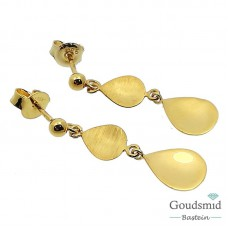 Gouden oorhangers 14 karaat