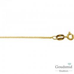 Gouden collier 0,8mm venetiaans, 50cm