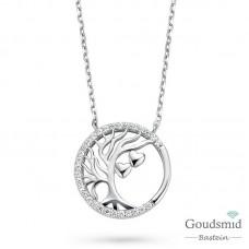 Rosa di Luca zilveren collier 624.583