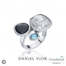 Daniel Vior Acacia zilveren ring