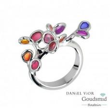 Daniel Vior Branca zilveren ring