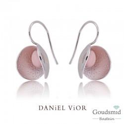 Daniel Vior Gynea Dipetala zilveren oorhangers