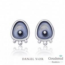 Daniel Vior Drops zilveren oorknoppen