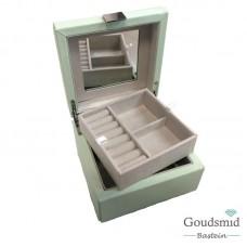 Sieradenbox klein groen