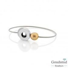 Clic Jewellery aluminium bracelet A26GOLD