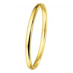 Gouden bangle 4.8mm, 60mm