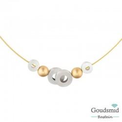 Clic Jewellery aluminium necklace C131GOLD