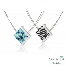 Clic Jewellery aluminium necklace C176