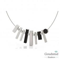 Clic Jewellery aluminium necklace C184Z
