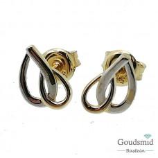 Gouden oorknoppen 14 karaat