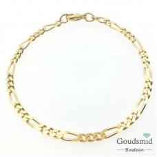 Geelgouden armband 14karaat firago F19792-19
