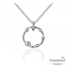 Infinitois zilveren collier