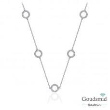 Huiscollectie zilveren collier