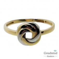 Gouden ring 14 karaat